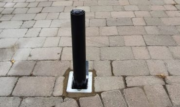 BLACK RD4 BOLLARD INSTALLATION