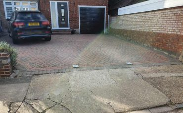 bollards installaed on chelmsford driveway