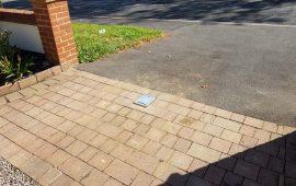 upminster driveway bollard install