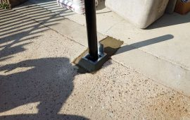 east london commercial bollard installation